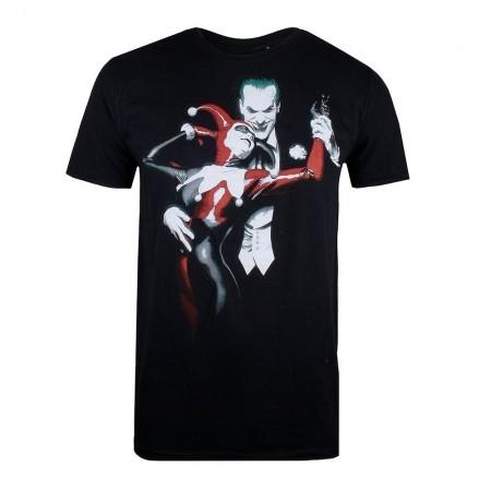 T-shirt - DC comics - Joker & Harley - Black - GBMTS395BLK