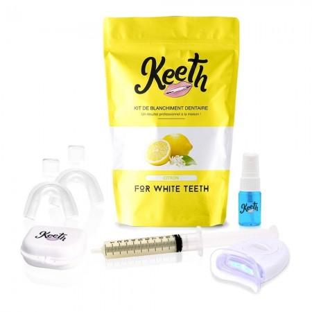 Kit de blanchiment dentaire complet saveur citron