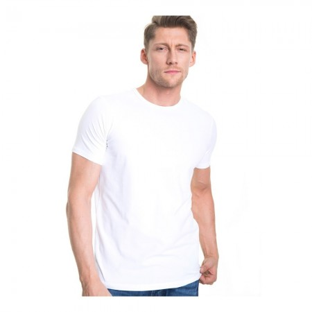 T-shirt Manches Courtes CLASSIC MEN WHITE 110