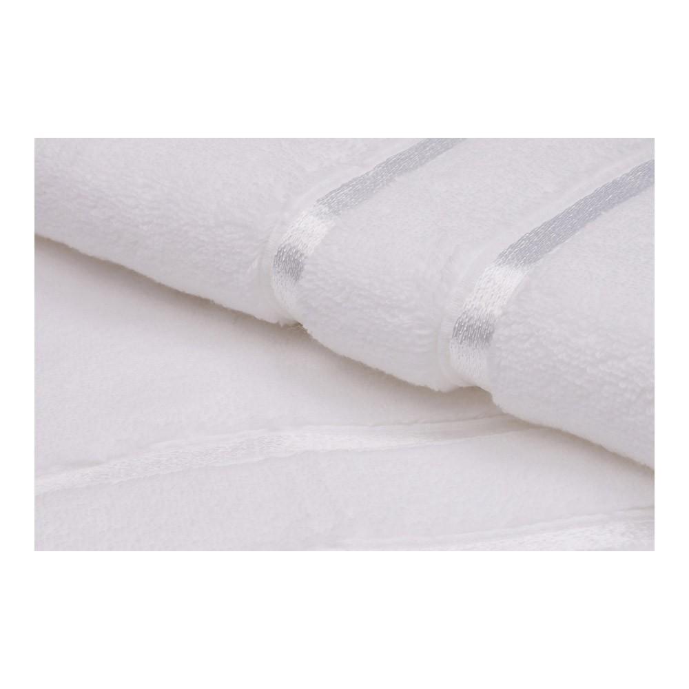Set serviettes (2 Pieces) - 50x90cm + 70x140cm - Dolce - White