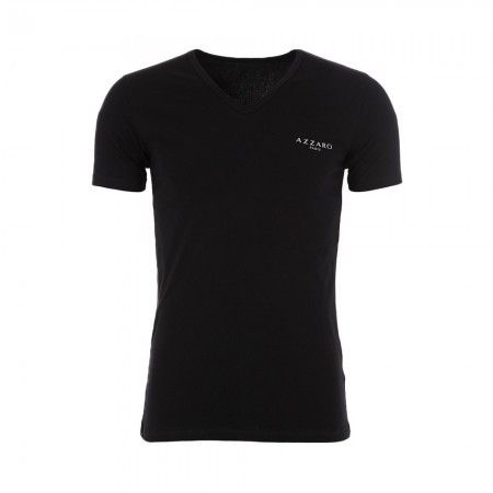 T-shirt - AZZARO - Black - A5010-03
