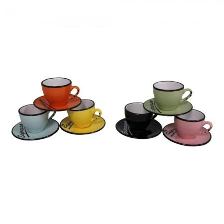 Set 6 tasses et sous tasses Espresso - SEB14799