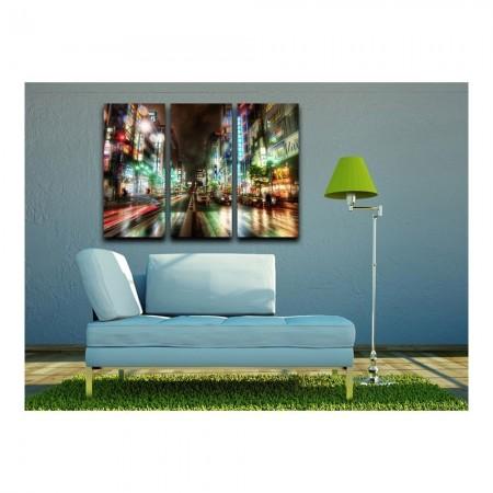 Cadre  - 69x2x50 -  Urban And Landscape  -  Multicolor  -  pcanv127