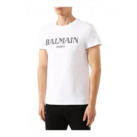 T-shirt - BALMAIN - 100 White - W8H8601