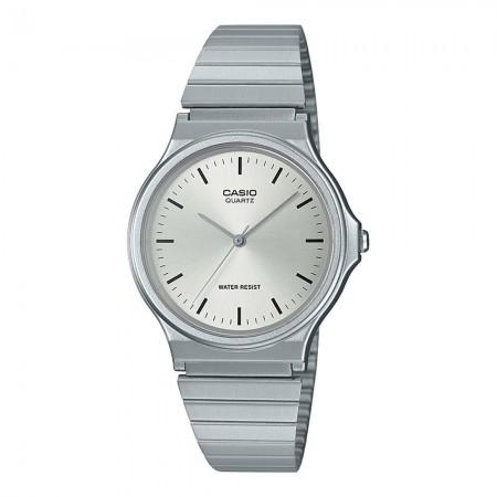 Montre CASIO - Collection - Quartz - Metallic/Grey - Bracelet Acier inoxydable Metallic - MQ-24D-7EEF