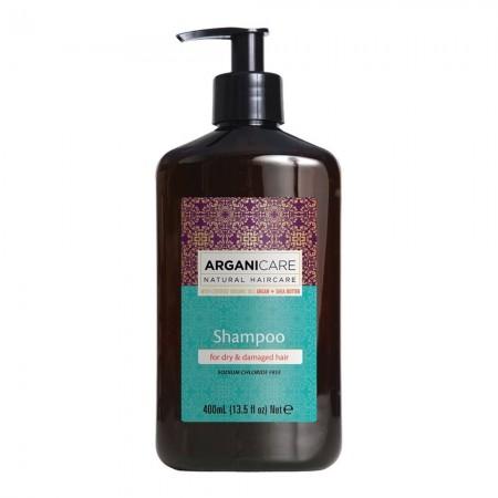 Shampoing nourrissant & hydratant - Argan - Cheveux secs & abîmés - 400 ml