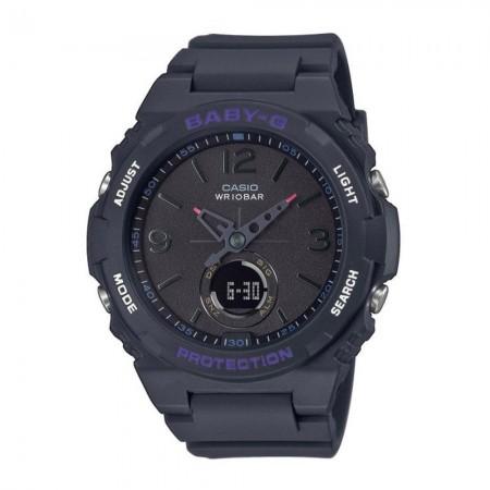 Montre CASIO - G-Shock - Quartz - Black/Black - Bracelet Résine Black - BGA-260-1AER