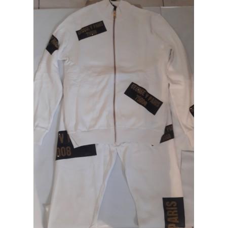 Sweatshirt - Avenue George V - GV1010 - White - Gold
