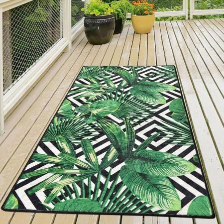 Tapis (100 x 200) - Tropic - Green - Multicolor - 882CHL1719