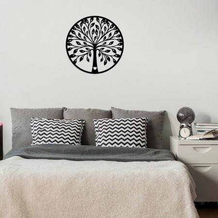 Décoration murale en bois - A?aç 3 - Black - 899SKL1394