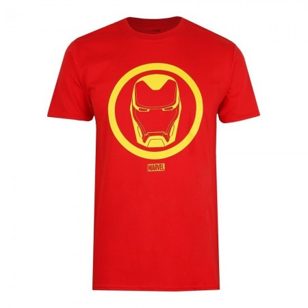 T-shirt - Homme - Marvel - Iron Man Emblem - Red - FBMTS545RED