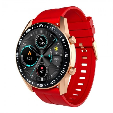 Montre - Or Rose - Rouge - Homme - TS1009-002