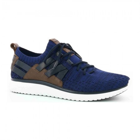 Sneakers basses Gm Knit - Marine