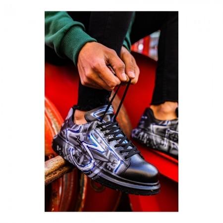 Chaussures - CHEKICH - Blue-White Graffiti - CH254F25394AB3080