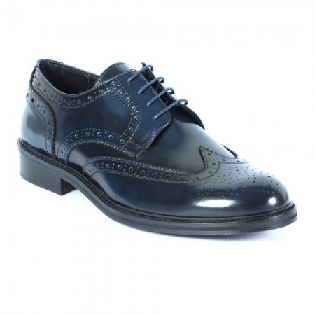 Derbies Sorrento Spazzolato Blu - Bleu