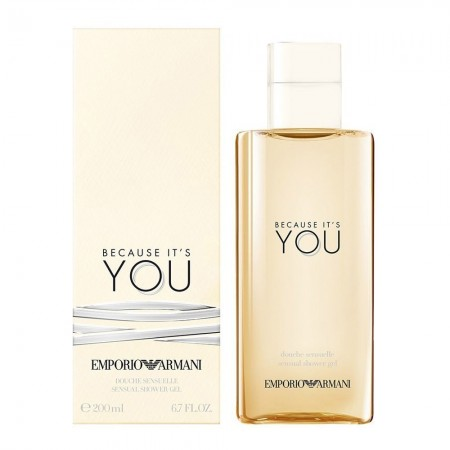 Gel douche - Because it's you - Armani - 200 ml -ARM00331