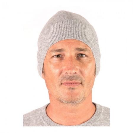 Bonnet Style 1 - Gris Chine - 100% cashmere