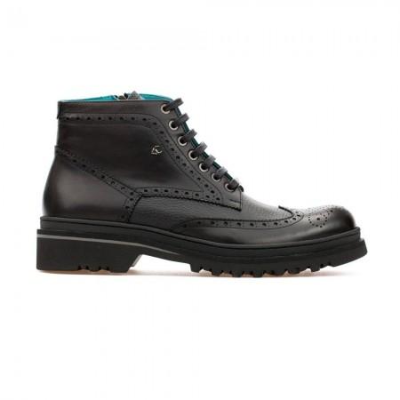 Chaussures Brogue Boot Leonard - Black