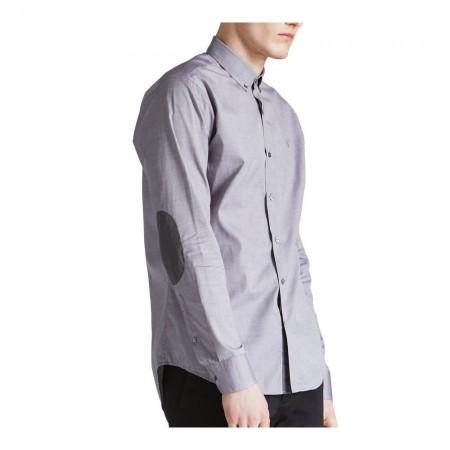 Chemise Smart Casual Slim Fit - Grey - CC-31