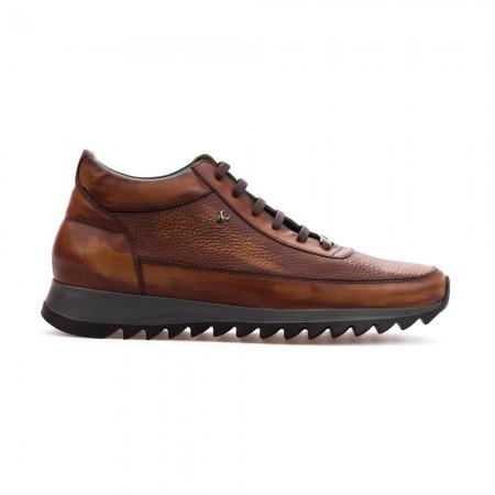 Chaussures High Top Runner Rafael - Tobacco