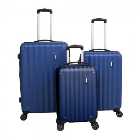 Set 3 valises - Blue - 20193/3