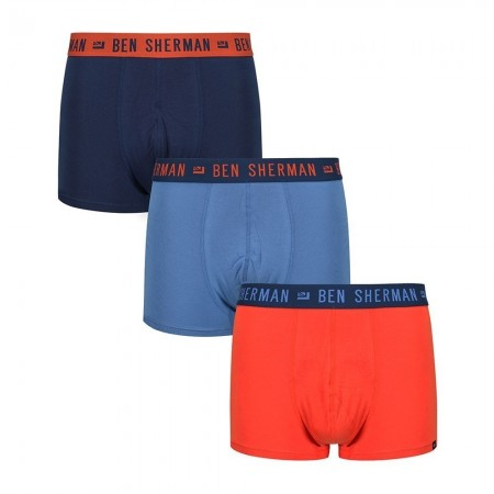 Lot de 3 boxers homme BENTLEY koi/navy/blue