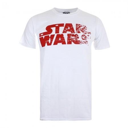 Tee-shirt MC homme REBEL TEXT LOGO white