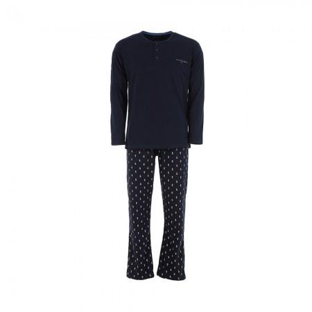 Ensemble Nuit/Homewear Azzaro - Bleu Foncé - A6020 - 10