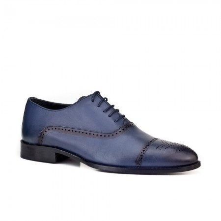 Chaussures Classiques Richelieus Cuir - Navy - 8YEP02AY017790