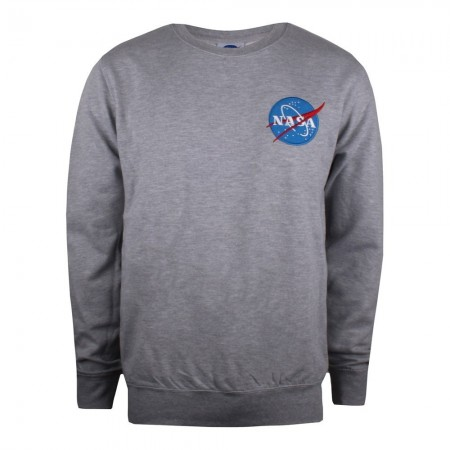 Sweat - Nasa - Circle Lhc - Gris marl - TMMCS009SPO