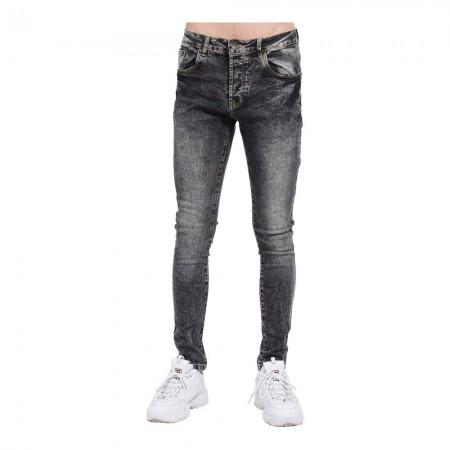 Jean coupe slim fit - Gris - 1283448