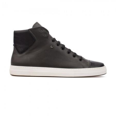 Chaussures High Top Sneaker Lars - Grey & Black