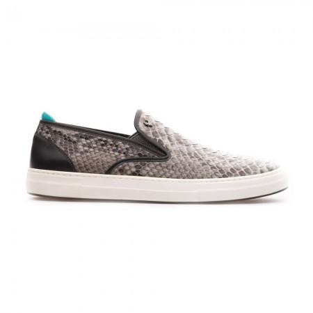 Chaussures Slip On Aiden - Grey Naturel