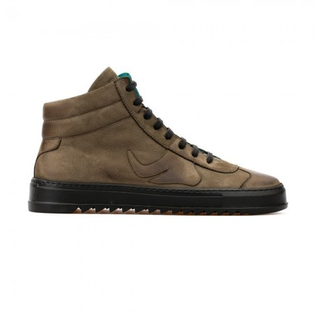 Chaussures High Top Sneaker Shaun - Khaki
