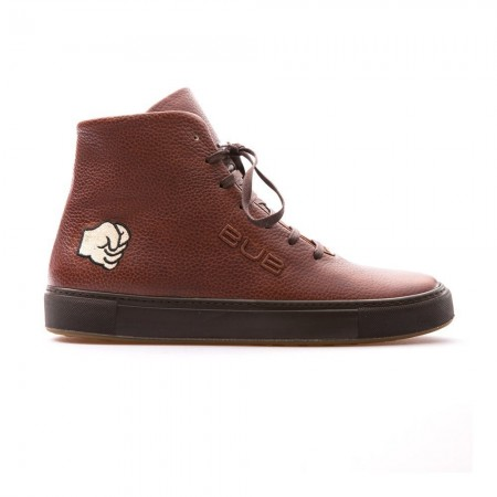 Chaussures High Top Sneaker Hammer - Tobacco