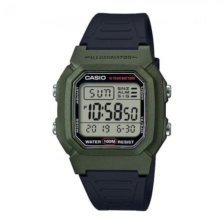 Montre digitale W+800HM.3A noir/vert