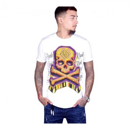 T-shirt - Avenue George V - Blanc - GV512