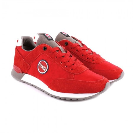 Chaussures homme TRAVIS COLORS red/gray