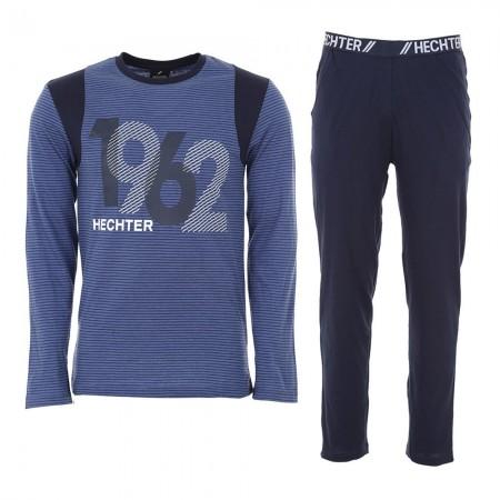 Pyjama Long Manches Longues Hechter - Bleu/Marine