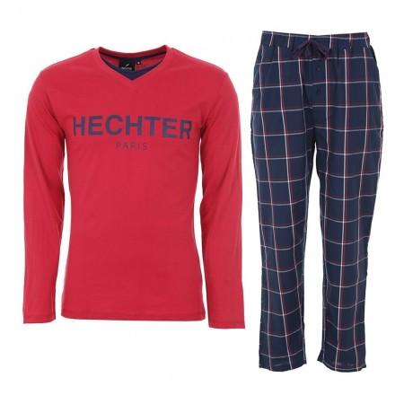 Pyjama Long Manches Longues Hechter Studio - Rouge/Marine