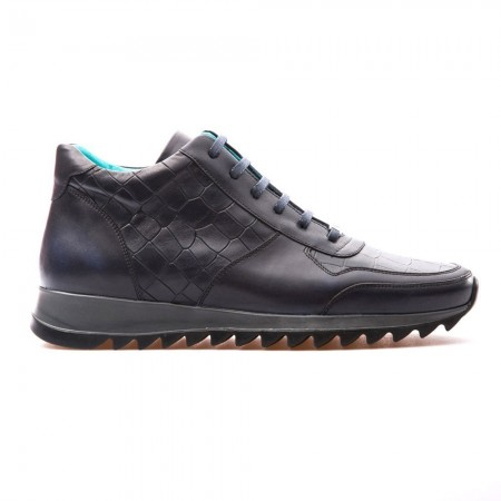 Baskets Mi-Montantes - Bub Shoes - Novak - Dark Blue