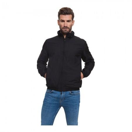 Veste Zippée à Capuche Brazier - Black