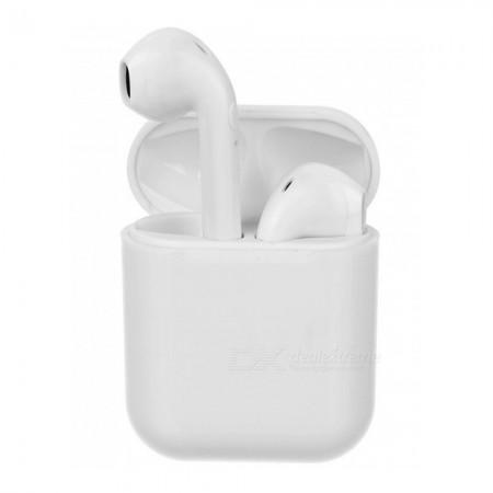 Mini Ecouteurs Sans Fil 5.0 Avec Boitier De Recharge-Blanc