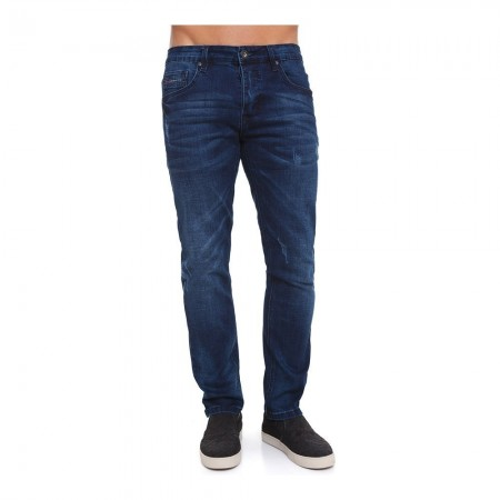 Jeans - CrossHatch - Carlisle - Stone Wash