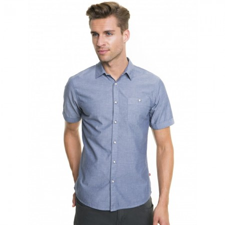 Chemise Manches Courtes - Slim - Joey - Blue - 418