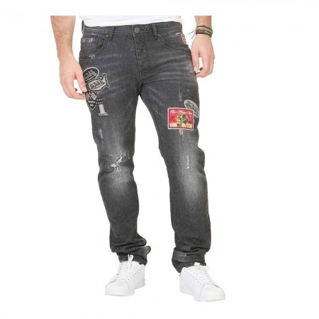 Jeans DANY USED noir