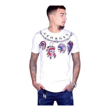 T-shirt - Avenue George V - Blanc - GV500