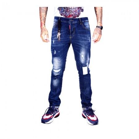 Jeans - Avenue George V - Bleu - GV709