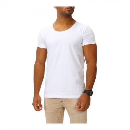 T-shirt Joe Franks - Round Deep - Blanc