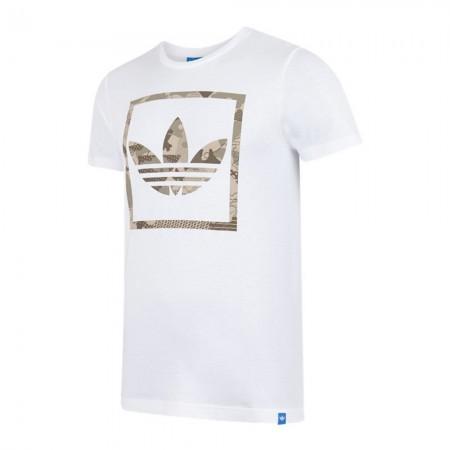 Adidas G CAMO BOX TREF - Tee-shirt white